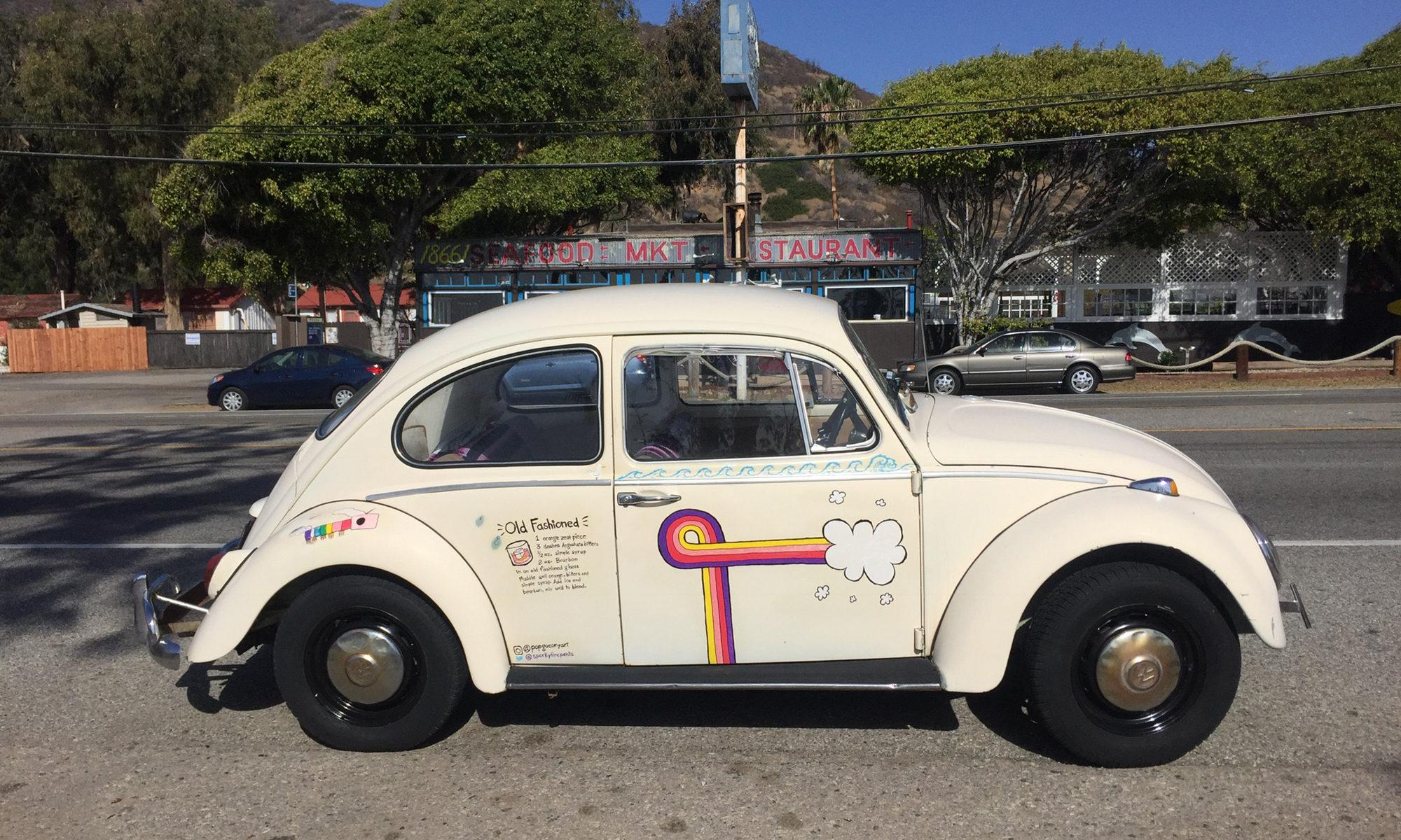 Helga the 1966 VW Beetle
